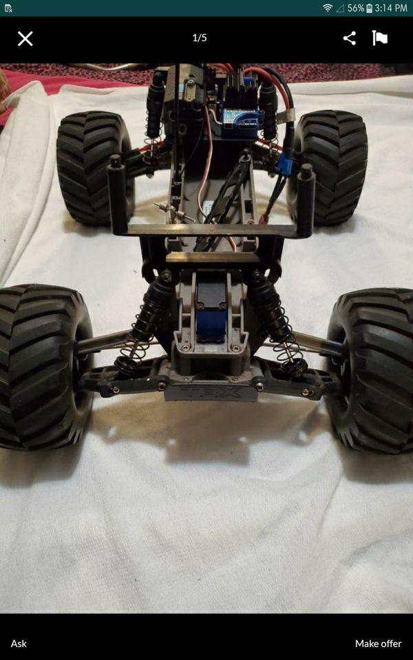 Traxxas Stampede 2wd , Battery NOT included but available