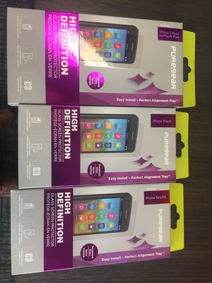 Temp glass screen protector with lifetime warranty for Sale in San Francisco, CA