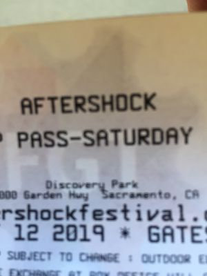 Aftershock Saturday tickets for Sale in Sacramento, CA