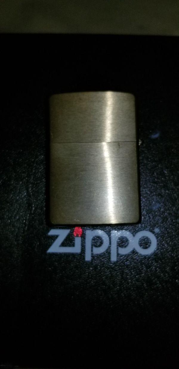 Genuine Zippo lighter gift set