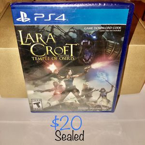 Lara Croft — and the Temple of Osiris — PS4 game for Sale in La Palma, CA