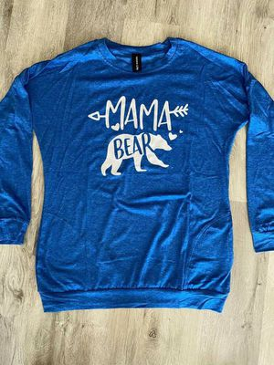 Mama bear long sleeve shirt with pockets for Sale in Moyock, NC