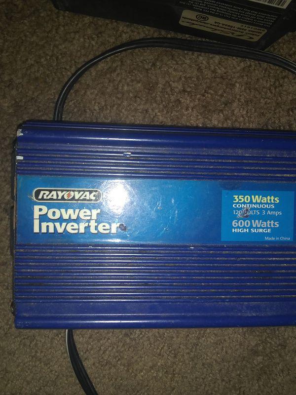 RAYOVAC power inverter