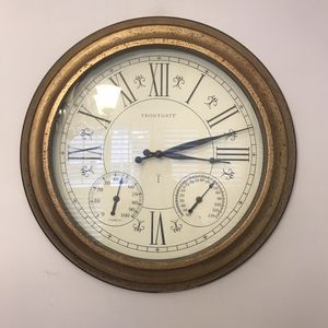 "24"" Outdoor Copper Frontgate Clock for Sale in Franklin, TN"