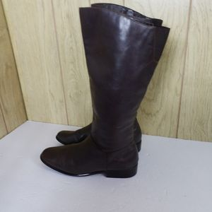 St John's Bay Brown Genuine Leather Boots Size 9.5 M for Sale in Redmond, WA