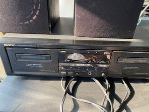 Onkyo tape deck for Sale in Long Beach, CA
