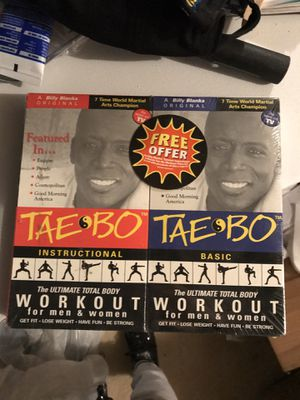 VHS Vintage TAE BO video for Sale in Lithonia, GA