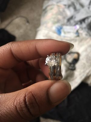 Wedding ring and band for Sale in Nashville, TN