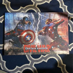 Picture - Marvel - Captain America Civil War for Sale in Cranberry Township, PA