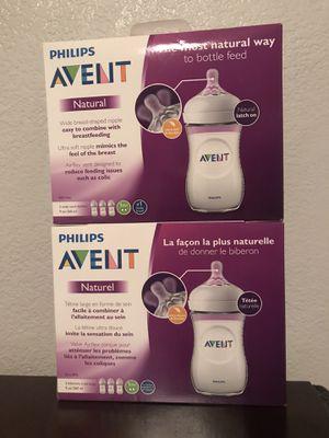 Brand new 9oz Avent bottles for Sale in Yuma, AZ