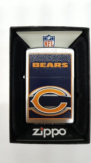 Zippo NFL Chicago bears brushed chrome 24604 for Sale in Los Angeles, CA
