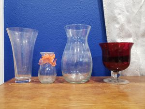 4 Flower vases for Sale in Phoenix, AZ