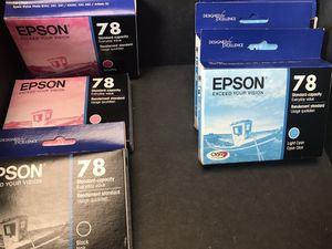 Epson 78 printer ink. Half price. for Sale in O'Fallon, MO