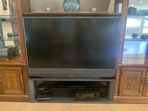 Television and TV stand for Sale in Phoenix, AZ