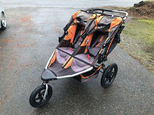 BOB Revolution Flex 2.0 Duallie Double Jogging Stroller Canyon Color for Sale in Auburn, WA