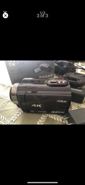 4k camera ABlue for Sale in Alpharetta, GA