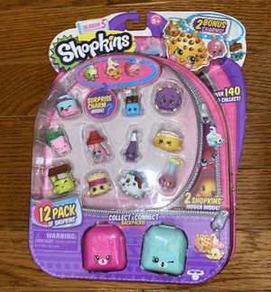 Shopkins 12 Pack Of Shopping Season 5 for Sale in Fairfax, VA