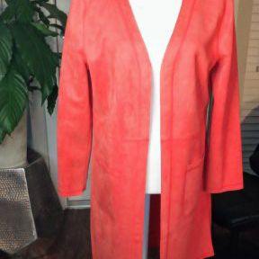 Women Leather Jacket Cardigan Coat Brand New Size Large for Sale in Smyrna, GA