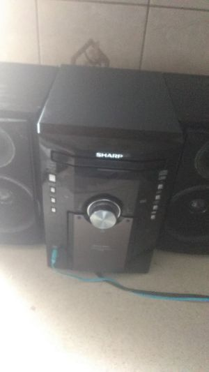 Sharp radio like new everything works its super loud in clear for Sale in Chicago, IL