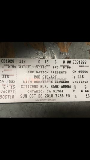 Rod stewart for Sale in Los Angeles, CA