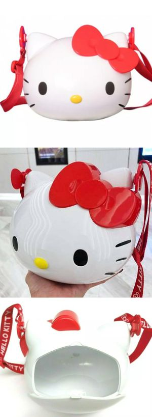 2018 Hello Kitty Special Edition Popcorn Bucket Purse Bag 64 oz ONLY SOLD OVERSEAS AT MOVIE THEATERS Purse Bag for Sale in City of Industry, CA