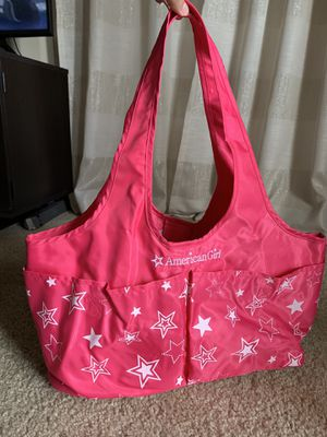 American Girl 2 Doll Storage Tote for Sale in Kissimmee, FL