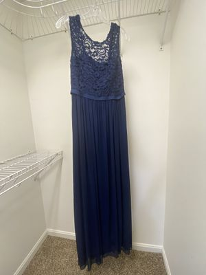 David's Bridal Navy Blue Bridesmaid Dress for Sale in North Beach, MD