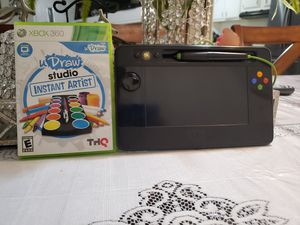 UDraw game+Tablet for Xbox 360 for Sale in San Jacinto, CA