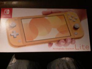 Nintendo switch light (yellow) for Sale in Auburn, WA
