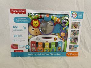 Fisher-Price Deluxe Kick & Play Piano Gym for Sale in Milford, CT