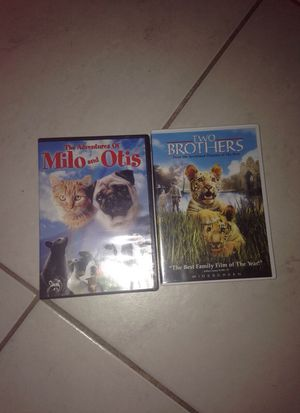 2 Milo & Otis + Two Brothers Movie Set for Sale in Clearwater, FL