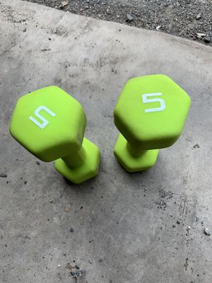 Two 5 lb weights for Sale in Manassas, VA