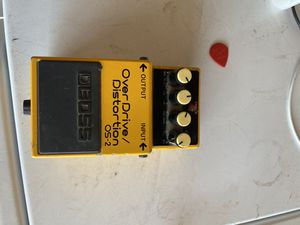 BOSS OS-2 Overdrive/Distortion Pedal for Sale in Hacienda Heights, CA