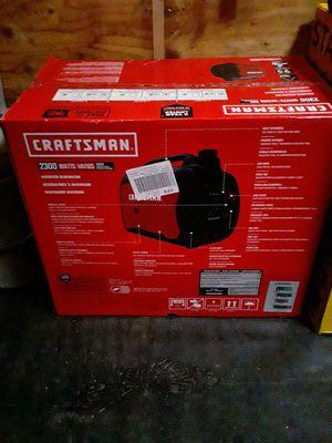 Craftsman Generator Inverter for Sale in NO POTOMAC, MD