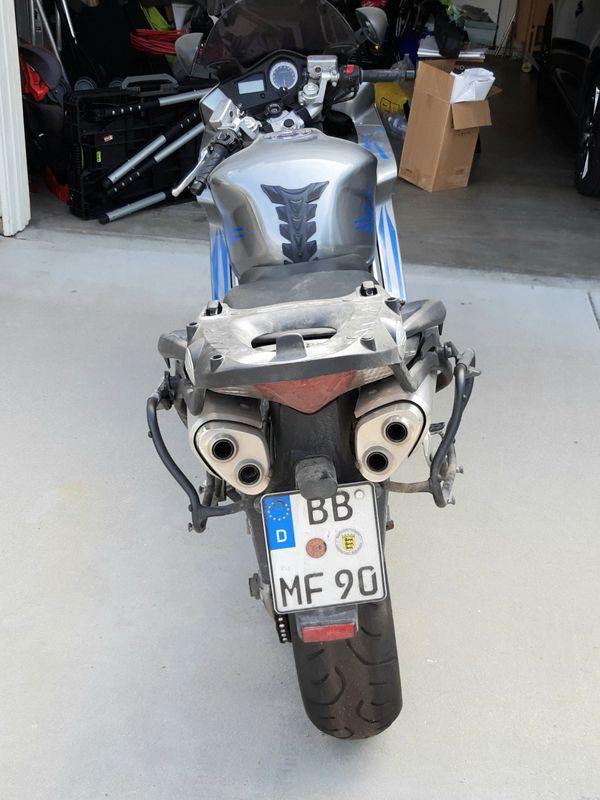 Honda VFR800 2008 Interceptor, motorcycle