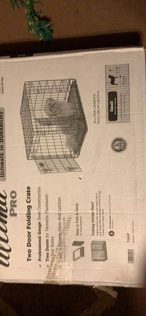 NEW Midwest Ultima Pro 2-Door Folding Dog/Cat Crate for Sale in Springdale, AR