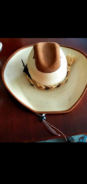 Cowboy hat, Stone brand, palm and suede for Sale in Arlington, VA