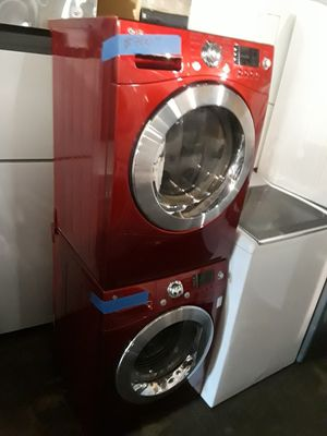"""24"""" lG front load washer and dryer set excellent condition working perfectly 4 months warranty for Sale in Baltimore, MD"""