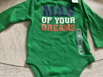 Baby onesie- Unisex- 3-6 Mths- New for Sale in Casselberry,  FL