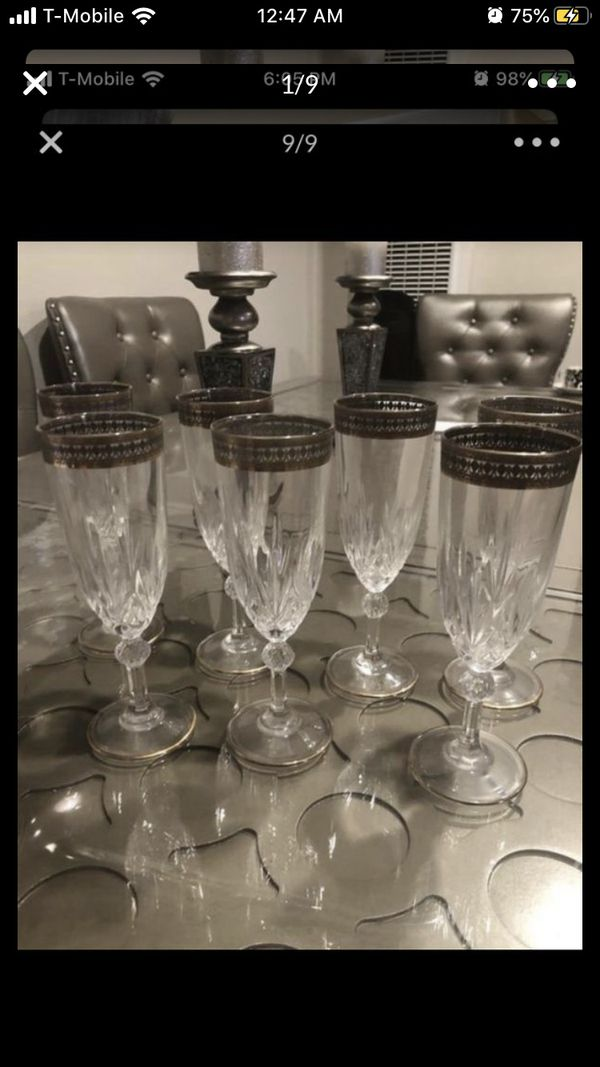 Champagne or wine cups