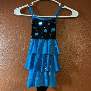 Girls Dress - Blue Dance Costume - Dance Performance Dress - Toddler Dress - Dance Leotard - 3T for Sale in Chandler, AZ