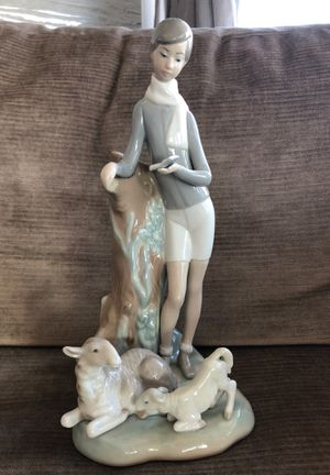 Lladro figurine - Boy with Lambs for Sale in Chicago, IL