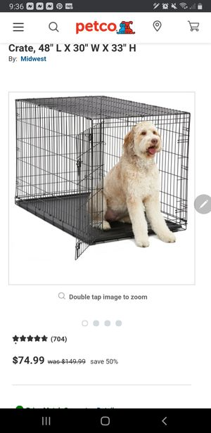 XxL dog crate, can fit two large dogs, *german shepards, huskys, pitbull for Sale in Beaverton, OR