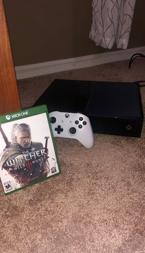 Xbox One (controller, headset, and The Witcher 3 Included) for Sale in Murray, KY