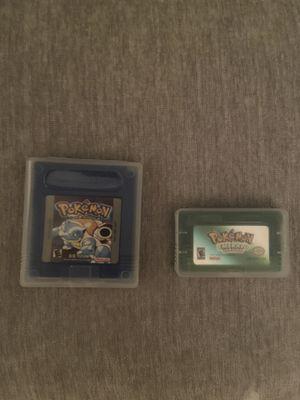 Pokémon Gameboy games for Sale in Alpharetta, GA