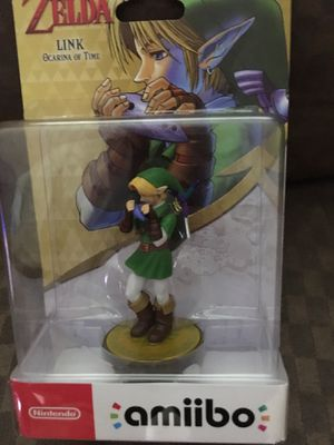 Shulk, Greninja, and Link (Ocarina of Time) Amiibo for Nintendo Switch , WiiU, and 3DS for Sale in Salem, OR