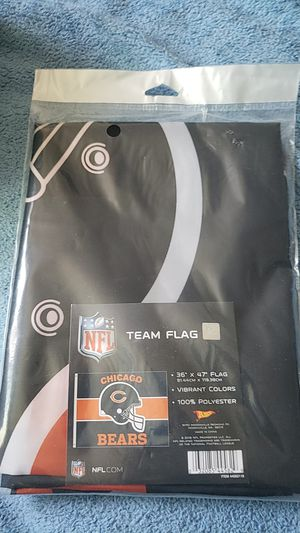 Let's go BEARS!! CHICAGO BEARS FLAG for Sale in Des Plaines, IL