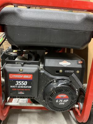 Troy-Bilt portable generator 3250 W for Sale in Dearborn, MI