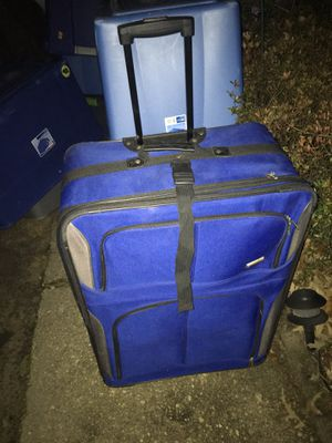 Large Luggage only $25 on wheels with handles for Sale in Severn, MD