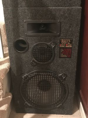 Linear Phase DJ carpeted speakers for Sale in Falls Church, VA